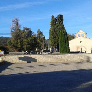 Entrée du village de Loubières